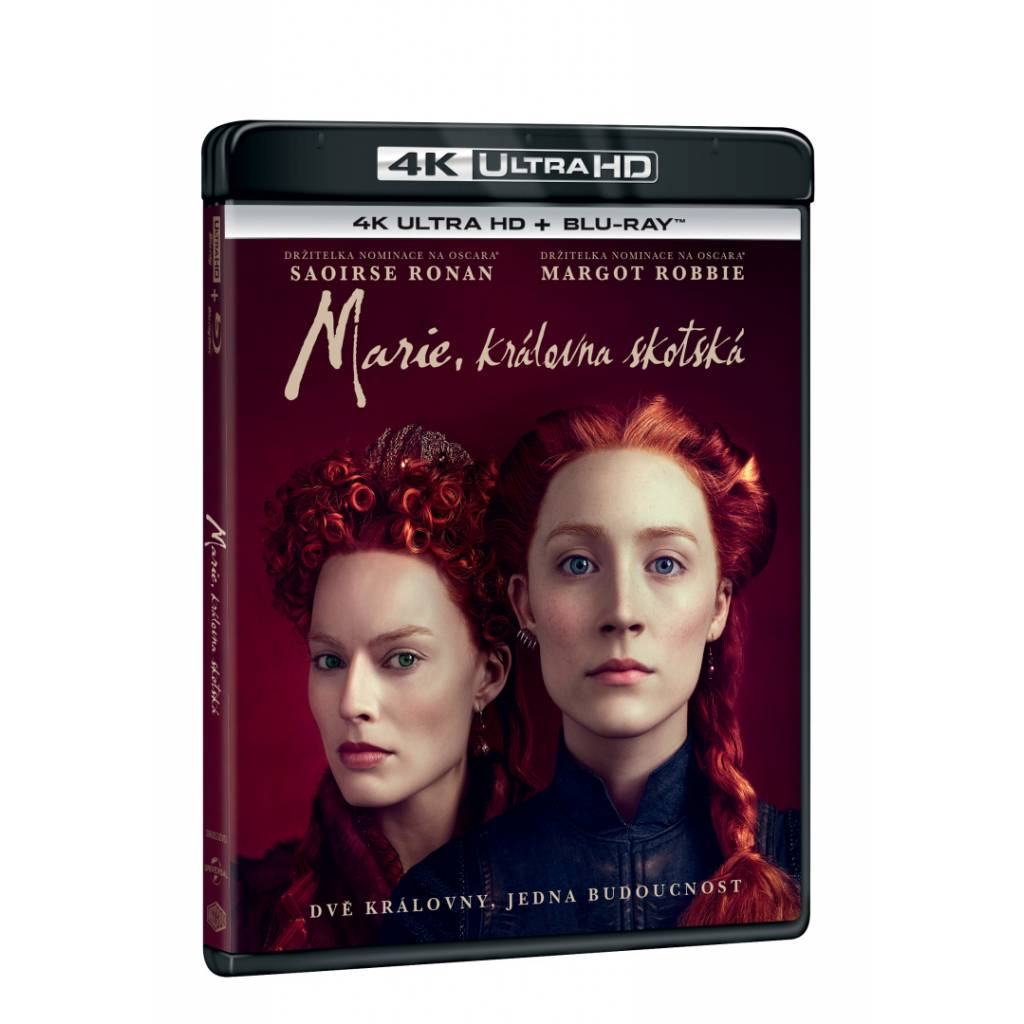 Blu-ray Marie, královna skotská, UHD + BD, CZ dabing